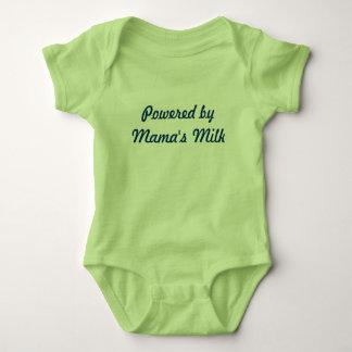 Powered by Mama's Milk Baby Bodysuit