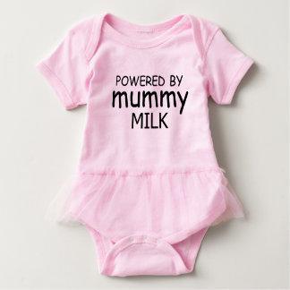 Powered by mummy milk vest baby bodysuit
