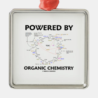 Powered By Organic Chemistry (Krebs Cycle) Christmas Ornament