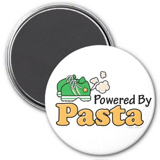 Powered By Pasta Runner Magnet