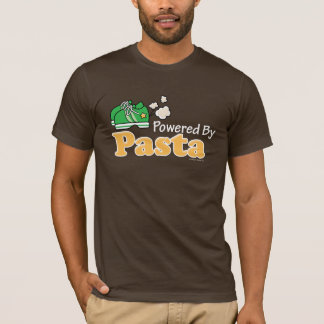 Powered By Pasta Runner T-shirt
