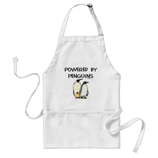 Powered By Penguins Aprons