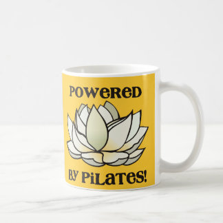 Powered By Pilates Lotus Coffee Mug