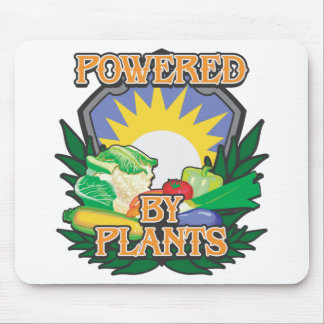 Powered by Plants Mouse Pad
