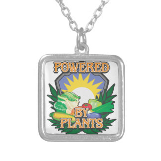 Powered by Plants Silver Plated Necklace