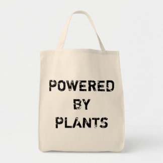 POWERED BY PLANTS BAG