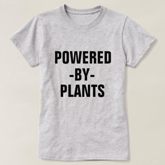 Powered by Plants women's vegan shirt