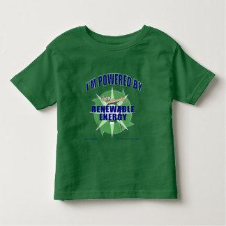 Powered by Renewable Energy Tee Shirt