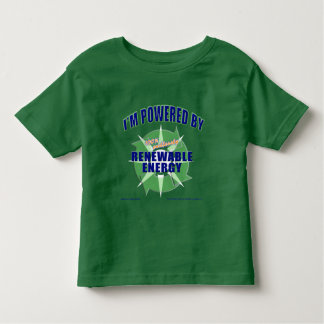 Powered by Renewable Energy Tee Shirt