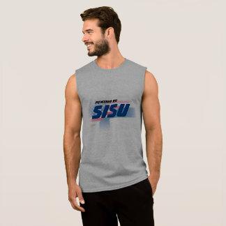Powered By Sisu w/Flags Sleeveless Shirt