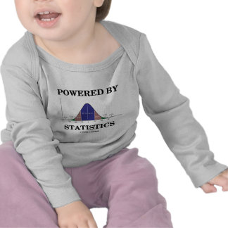 Powered By Statistics Stats Humor Shirts