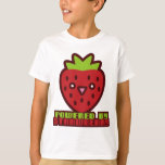 POWERED BY STRAWBERRY T SHIRT