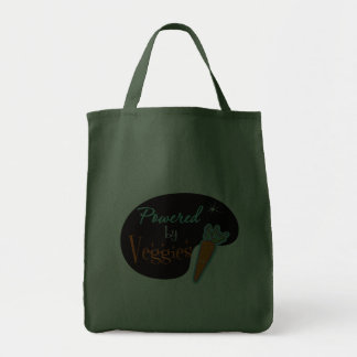 Powered by Veggies Canvas Bag