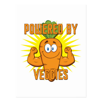 Powered by Veggies Postcards