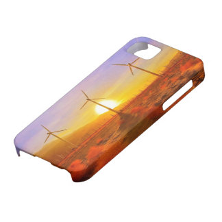Powered by Wind iPhone 5 Covers