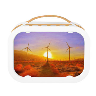 Powered by Wind Lunch Box