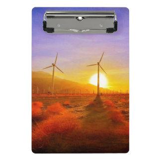Powered by Wind Mini Clipboard