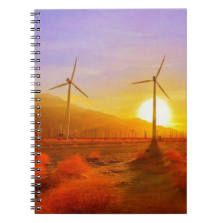 Powered by Wind Notebook