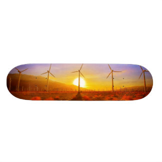 Powered by Wind Skateboard