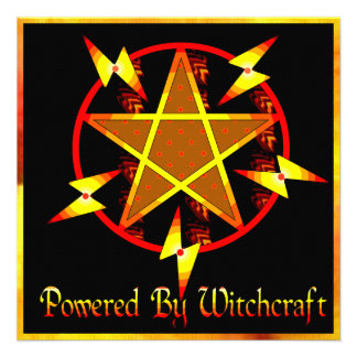 Powered By Witchcraft Invitations