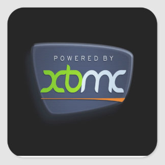 Powered By XBMC Stickers