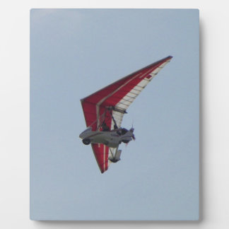 Powered hang glider plaque