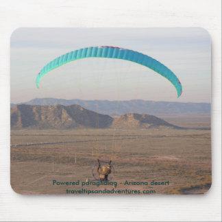 Powered paragliding - Arizona desert Mouse Mat