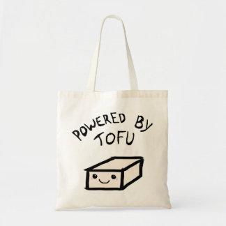 Powered village tofu budget tote bag