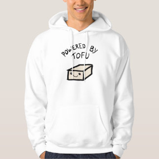 Powered village tofu, hoodie