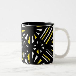 Powerful Great Powerful Powerful Two-Tone Mug