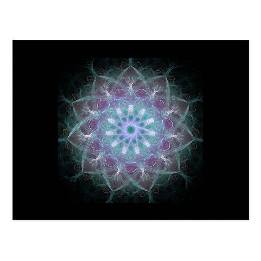 Powerful High Energy Mandala Post Card