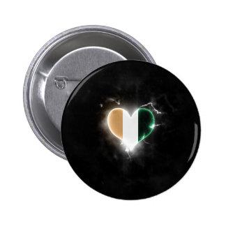 Powerful Ivory Coast 6 Cm Round Badge