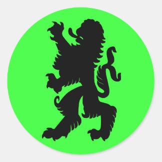 Powerful Lion Sticker