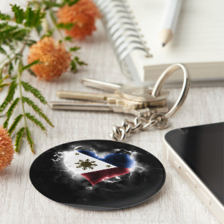 Powerful Philippines Key Ring