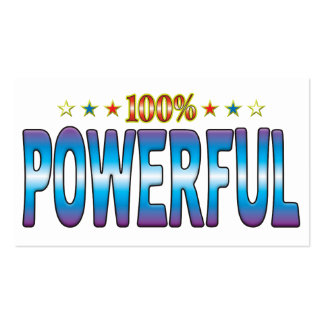 Powerful Star Tag v2 Business Card Templates