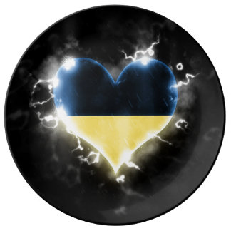 Powerful Ukraine Plate