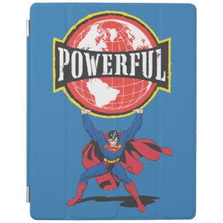 Powerful World Superman iPad Cover