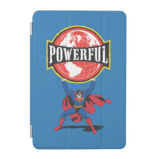 Powerful World Superman iPad Mini Cover