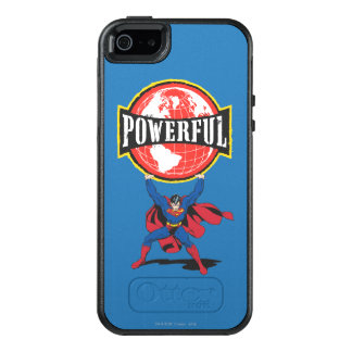 Powerful World Superman OtterBox iPhone 5/5s/SE Case
