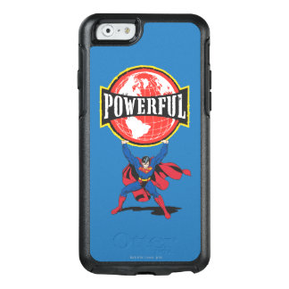 Powerful World Superman OtterBox iPhone 6/6s Case