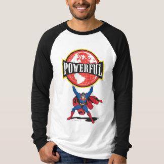 Powerful World Superman T-Shirt