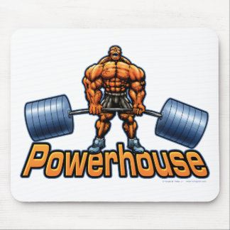Powerhouse Deadlift Mouse Mat