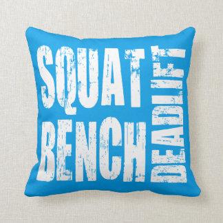 Powerlifting - Squat, Bench, Deadlift Throw Cushions