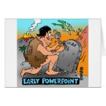 PowerPoint Cartoon Giftware Greeting Card