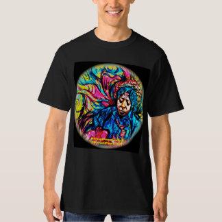 POWERS Blues-Haze Psychedelic Tee Shirt