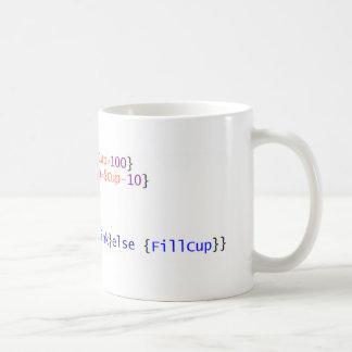 PowerShell Coffee script mug