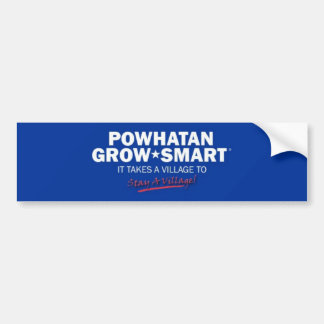 Powhatan Grow Smart Bumper Sticker