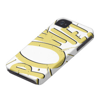 POWIE! iPhone 4 Case-Mate CASES