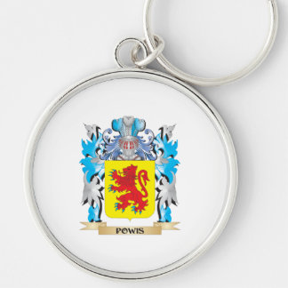 Powis Coat of Arms - Family Crest Key Chain