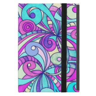 Powis iCase iPad Case Floral abstract background
